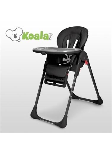 Kiwi Koala All in One Katlanır Tekerlekli Mama Sandalyesi Siyah